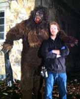 Steve Tolin and Trey Snow as Bigfoot, 2010